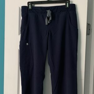 Figs Kade Navy Scrub Pants SP